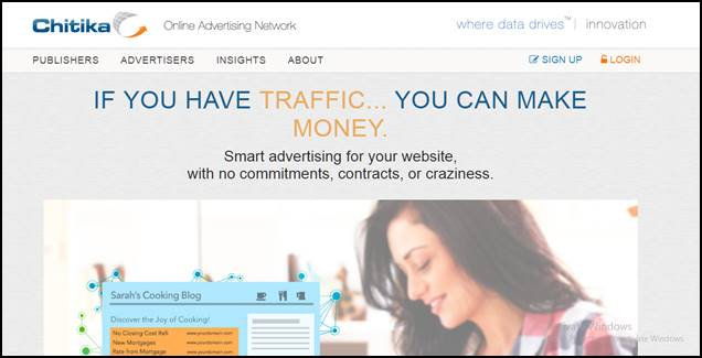 chitika ad network for new blogger
