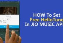 set jio tune