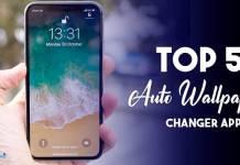 Auto wallpaper changer