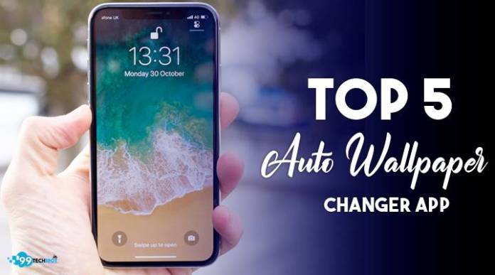 Auto wallpaper changer