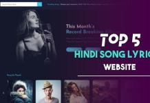 best hindi song lyrics website
