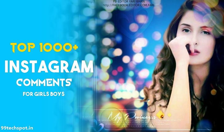 1000+ Instagram Comments In Hindi For Girls & Boys