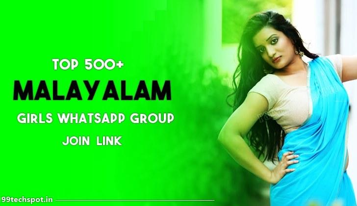 900+ Malayalam Girl Whatsapp Group Link 2021