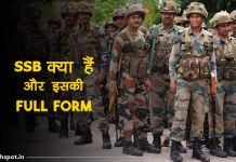 SSB Full Form In Hindi