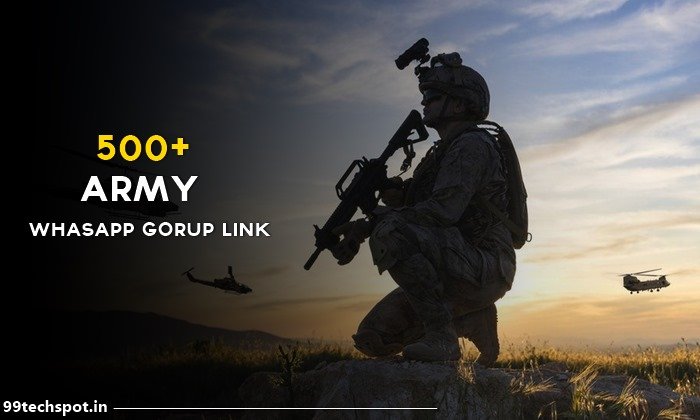 500+ Army whatsapp Group Link 2021