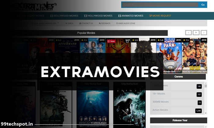 Extramovies 2021 – Full HD Hollywood Bollywood South Tmail Movies For Free
