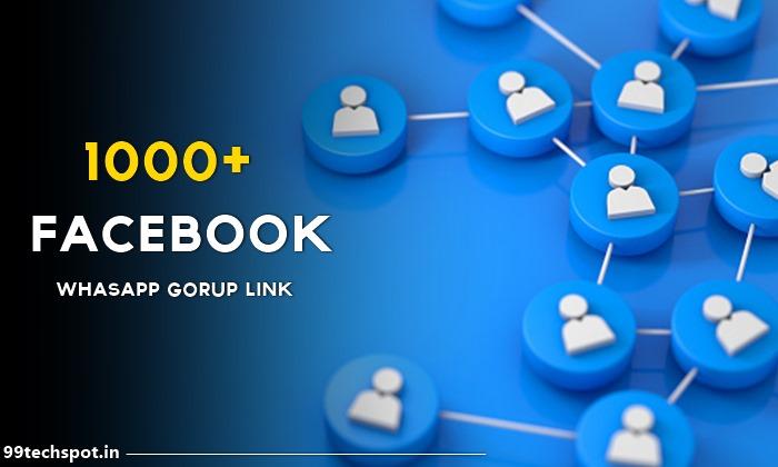1000+ Facebook Follower Liker Whatsapp Group Link 2021