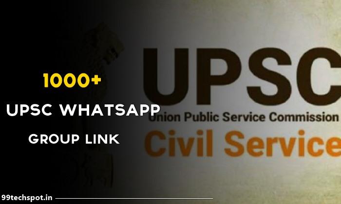 1000+ UPSC Whatsapp Group Link 2022