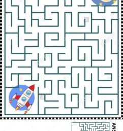 Spaceship Maze Worksheets   99Worksheets [ 1188 x 700 Pixel ]