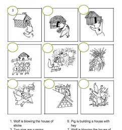 The Three Little Pigs Worksheets   99Worksheets [ 1154 x 700 Pixel ]