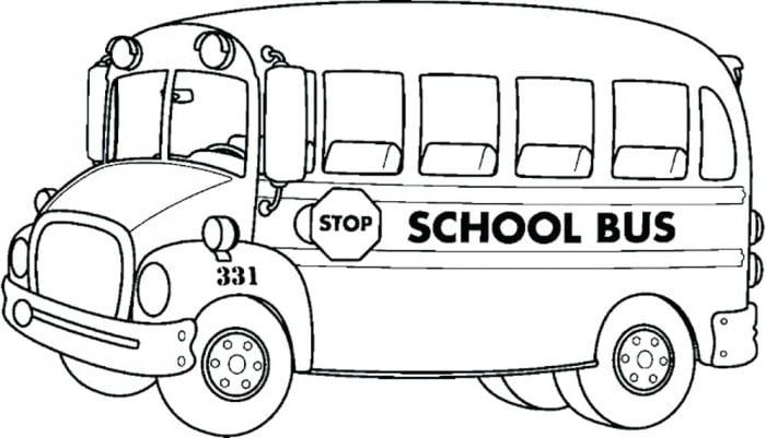 Transportation Coloring Page School Bus Worksheets 99worksheets
