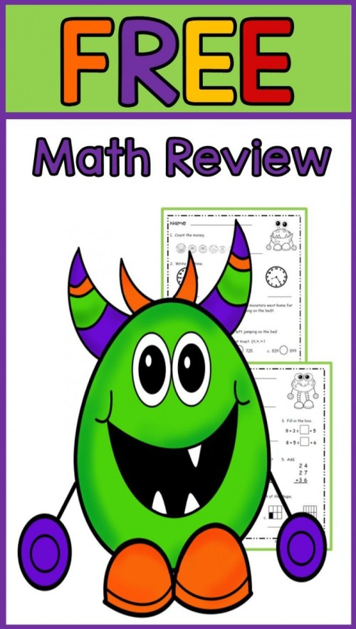 small resolution of Math Mixed Review Part 1: Flying Through Fourth Grade Worksheets    99Worksheets
