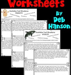 Nonfiction Text Structures Part 2: Cause And Effect Worksheets    99Worksheets [ 1207 x 700 Pixel ]