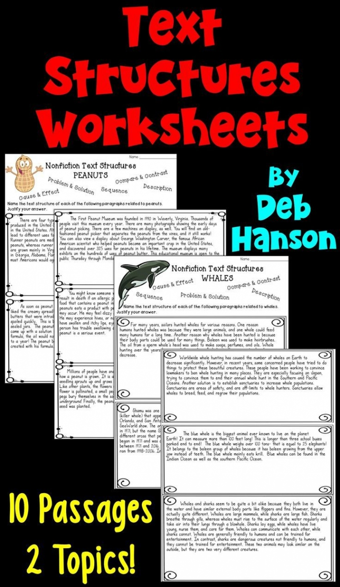 medium resolution of Nonfiction Text Structures Part 2: Cause And Effect Worksheets    99Worksheets
