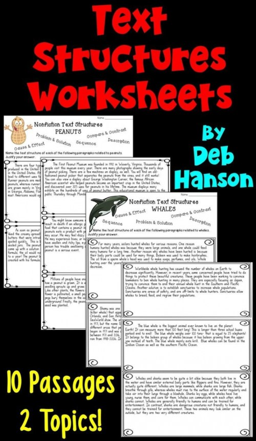 small resolution of Nonfiction Text Structures Part 2: Cause And Effect Worksheets    99Worksheets