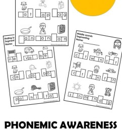 Phonological Awareness Explained Worksheets   99Worksheets [ 1540 x 700 Pixel ]
