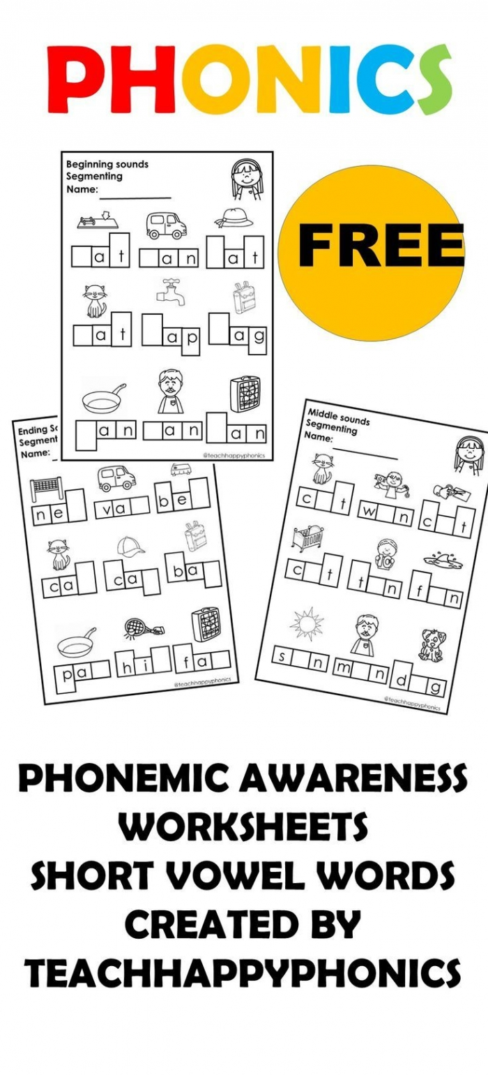 hight resolution of Phonological Awareness Explained Worksheets   99Worksheets