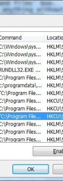 Win 7 - Disable programs running in Windows Startup