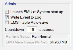 EMU Admin group