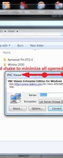 Win7 - Shake Feature