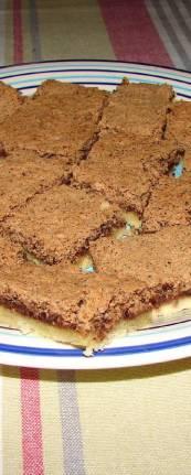 Cokoladna pita - kocke