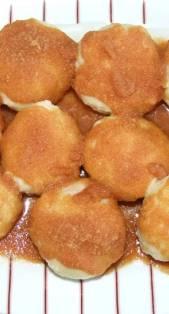 Okruglice (knedle) sa svjezim sljivama - gotovo jelo (1)