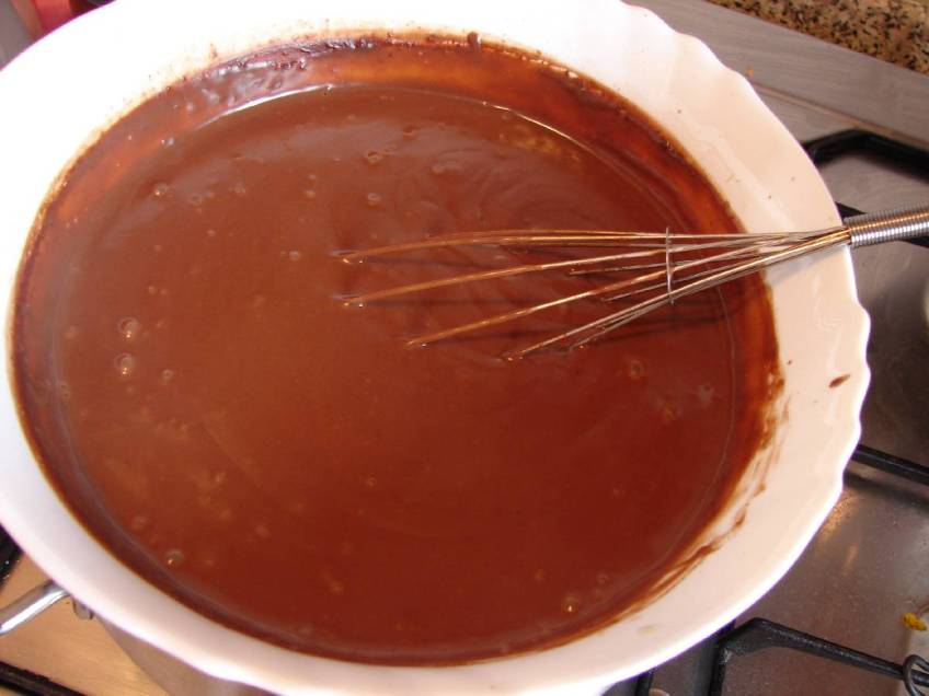 Čokoladni piškoti - priprema kreme