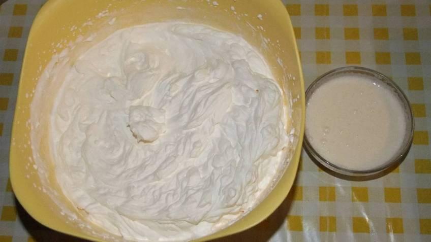 Kinder pingvin - priprema bijele kreme