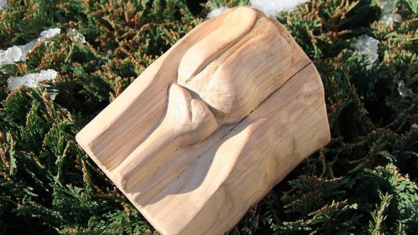 Art of Wood Carving - Wooden Rose