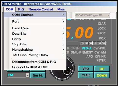 GBCAT - COM Engines