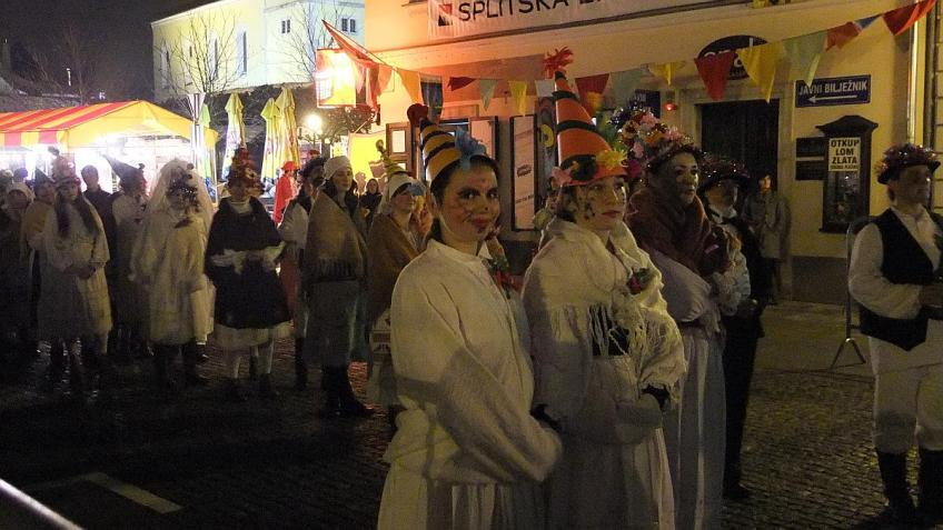 Traditional 187th Carnival at Samobor, Croatia