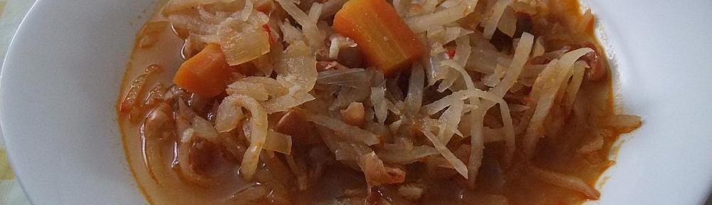 Fino varivo od graha i kisele repe - gotovo jelo