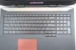 Alienware 17 -keyboard