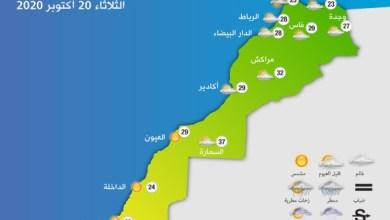 Photo of طقس الثلاثاء..أجواء غائمة في طنجة واحتمال نزول أمطار