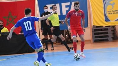Photo of المنتخب الوطني لكرة القدم داخل القاعة يُجدد فوزه على منتخب أوزبكستان