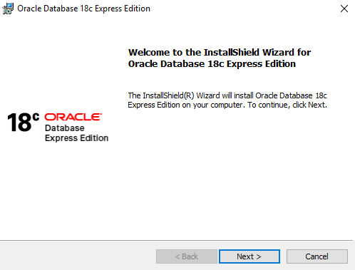 Oracle XE (Oracle Express Edition)