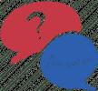 מערכת שאלות תשובות סמל