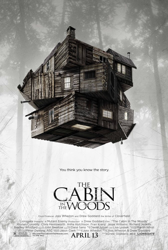 #100 The Cabin In The Woods (2012)