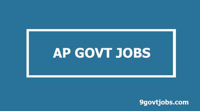 ap govt jobs 2019