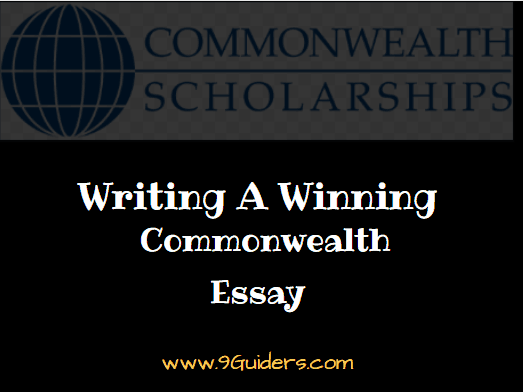 How To Win Commonwealth Scholarship
