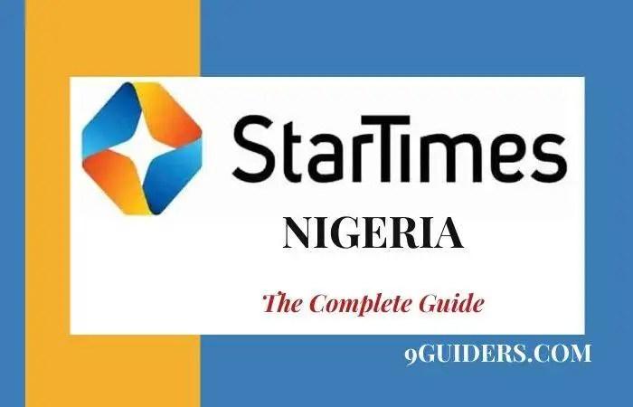 StarTimes Nigeria Guide