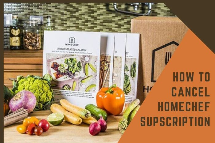 cancel home chef subscription