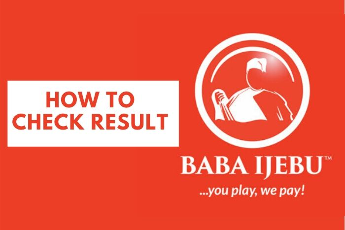 how to check Baba Ijebu result