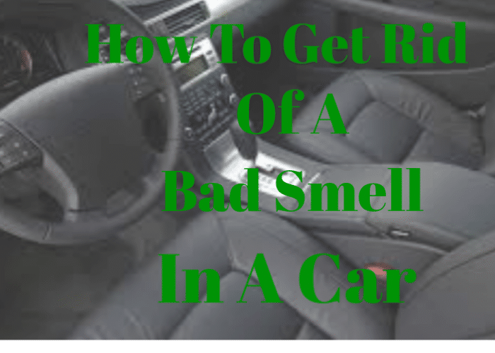 Best 8 Ways To Get Rid Of Bad Smells In A Car