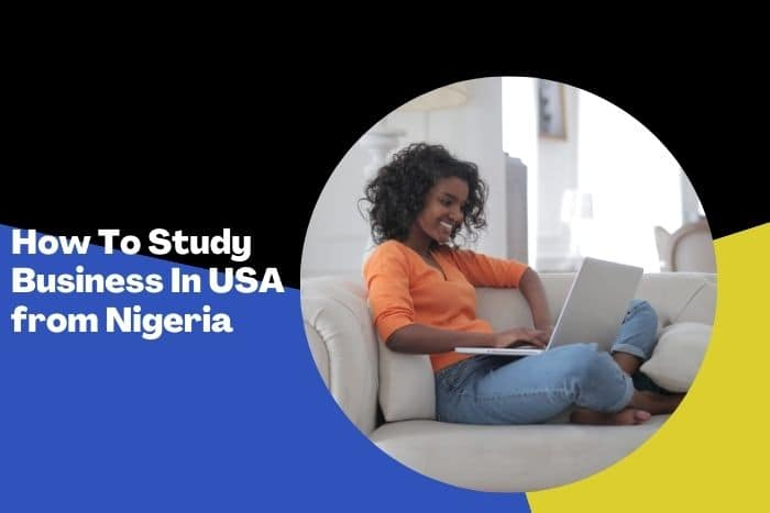 how to study business in USA from Nigeria