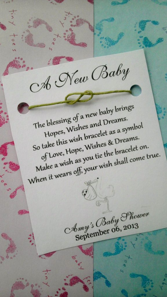 baby shower wishes cards