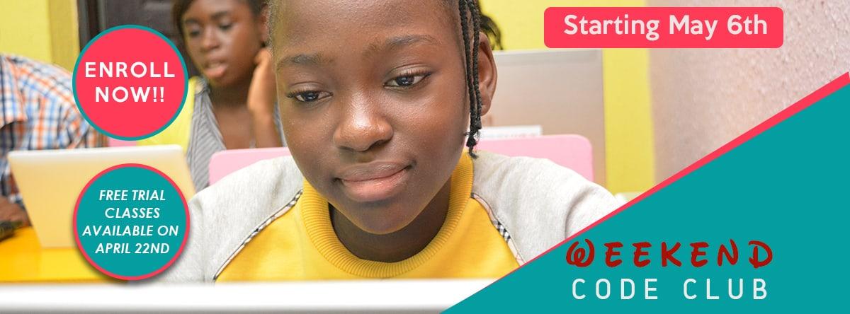 Nigerian girl coding