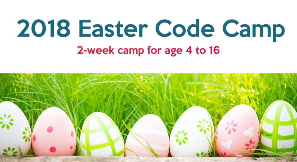 Easter Holiday Code Camp For Kids
