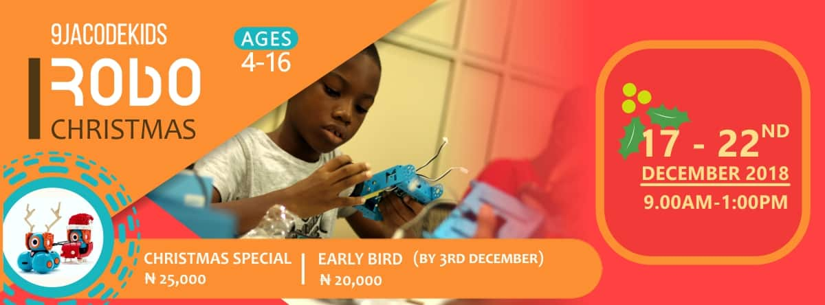 Robotics Artificial Intelligence Coding camp for kids in Port Harcourt