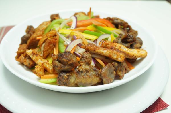 Chicken - Suya - Salad - Recipe - Nigerian - 9jafoodie - Healthy - Foods - Naijafoodie